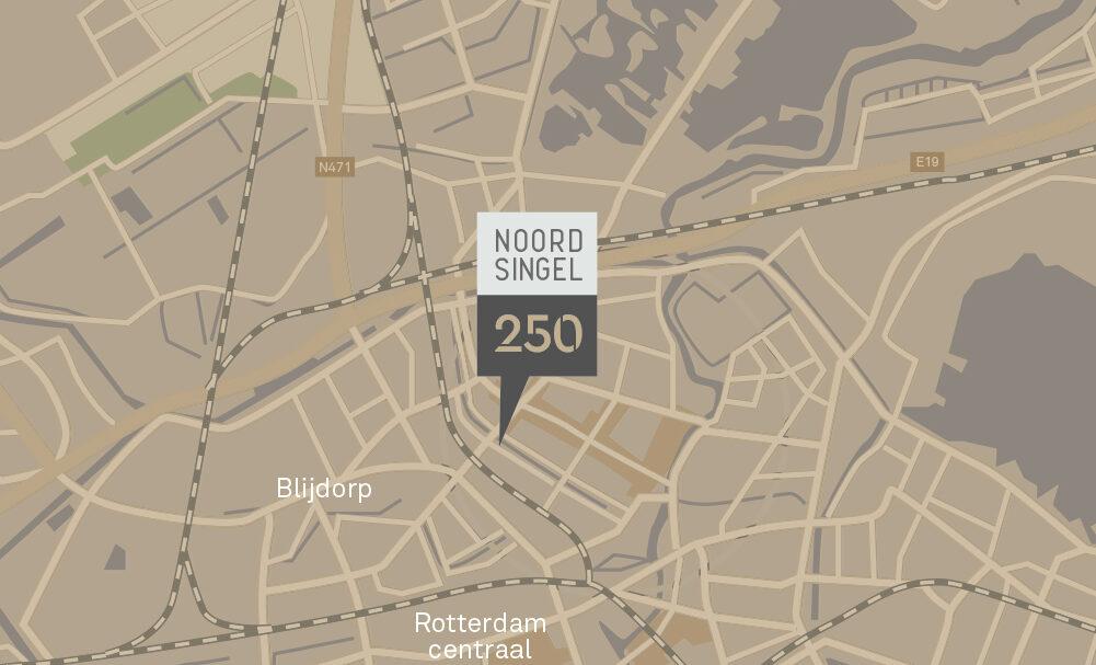 Noordsingel 250, Rotterdam
